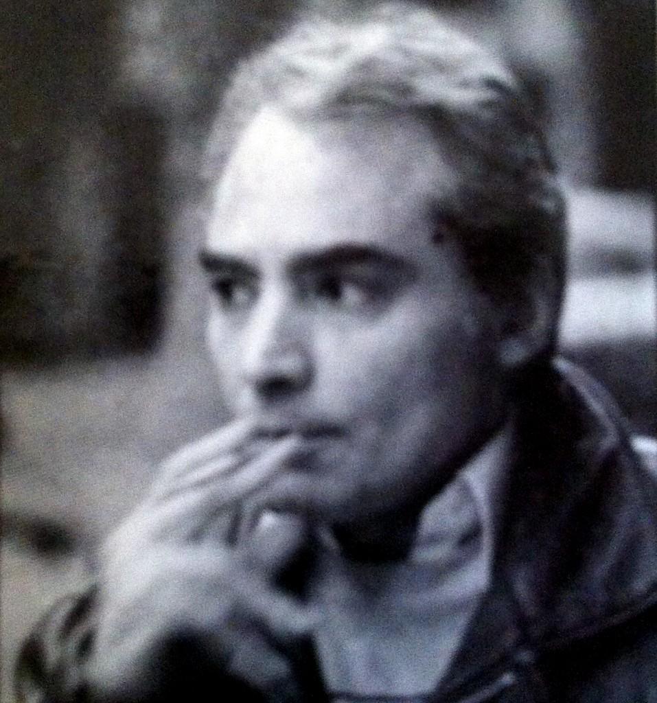 Horacio Vázquez-Rial, en 1986