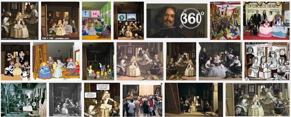 «Las Meninas» de Velázquez @ Showroom de Google